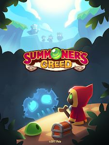 screenshot of Summoner's Greed: Idle TD Endless Adventure version 1.12.3
