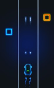 screenshot of Super Car Runner version 1.4