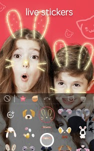 screenshot of Sweet Snap - live filter, Selfie photo edit version 2.26.100360