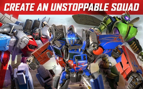 screenshot of TRANSFORMERS: Forged to Fight version 2.0.2