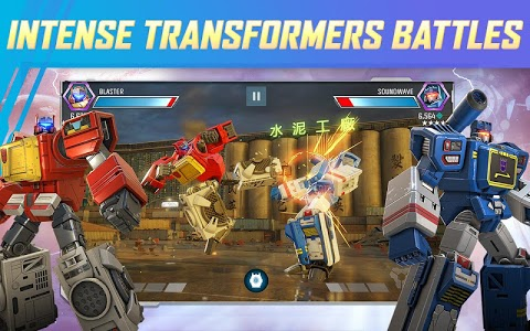 screenshot of TRANSFORMERS: Forged to Fight version 8.1.0