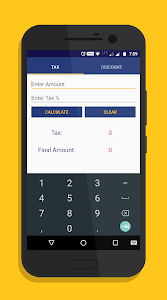 screenshot of Tax Discount version 2.0