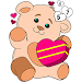 Cute Teddy Bear Color by Number - Girls Coloring