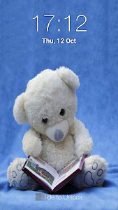 screenshot of Teddy Bear Pin Lock Screen version 1.8