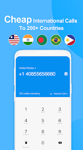 screenshot of Telos Free Phone Number & Unlimited Calls and Text version 2.1.3