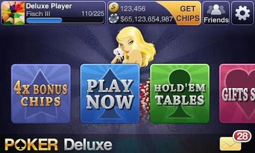 screenshot of Texas HoldEm Poker Deluxe version 2.4.0