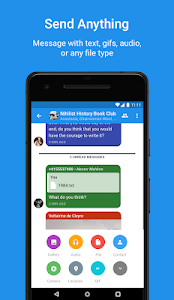 screenshot of Signal Private Messenger version 4.23.4