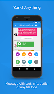 screenshot of Signal Private Messenger version 4.21.6