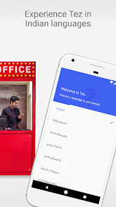 screenshot of Tez – A new payments app by Google version Varies with device