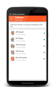 screenshot of Total Fitness - Gym & Workouts version 3.0.3