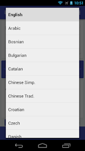 screenshot of Translate version Translator 11.0.9
