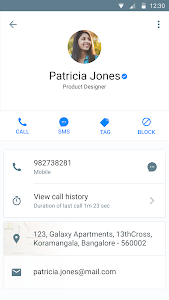 screenshot of Truecaller: Caller ID & Block version 8.11