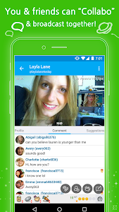 screenshot of TwitCasting Viewer version 4.601