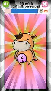 screenshot of UNLIMITED COW CLICKER version 2.0