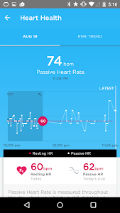 screenshot of UP® – Smart Coach for Health version 4.29.0