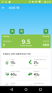 screenshot of UP® – Smart Coach for Health version 4.27.0