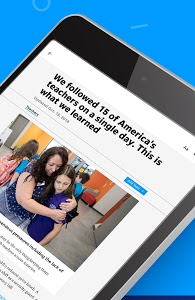 screenshot of USA TODAY version Varies with device