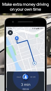 screenshot of Uber Driver version 4.221.10002