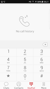 screenshot of UnitéTalk version V1.7.1.28-022300000
