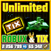 Unlimited Robux and Tix For Roblox Simulator