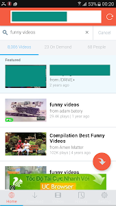 screenshot of Unlimited Video Download Pro version 1.1