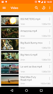 screenshot of VLC for Android version 3.2.6