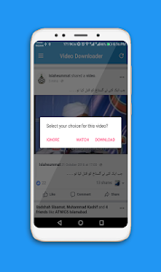 screenshot of Video Download for Fb - Social Video Saver Pro version 1.2.7