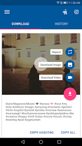 screenshot of Video Downloader - for Instagram Repost App version 1.1.56