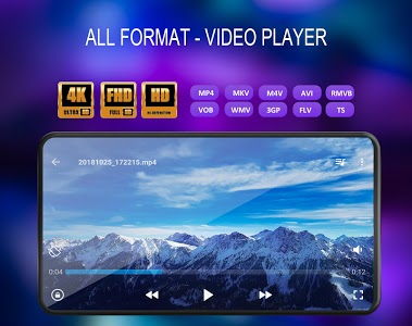 screenshot of Video Player All Format version 1.5.2
