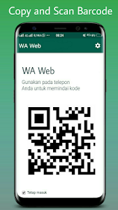 screenshot of WA web nano clone scan version 2.0