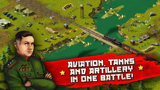 screenshot of Second World War: real time strategy game! version 2.90