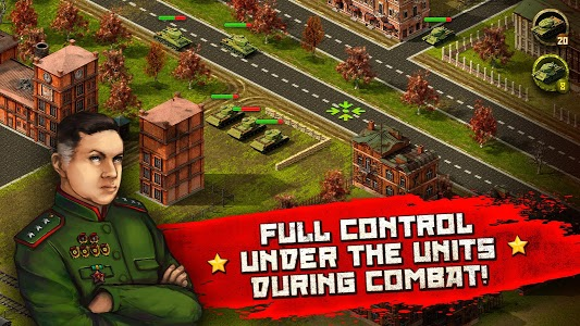 screenshot of WW2: real time strategy game! version 1.70