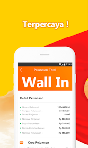 screenshot of Wall In - Pinjaman mata uang online version 2.2.6.1