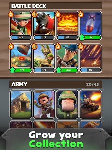 screenshot of War Heroes: Strategy Card Game for Free version 2.9.5