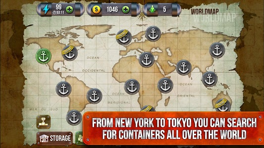 screenshot of Wars for the containers. version 3.7