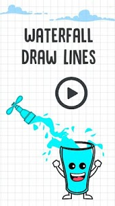 screenshot of Waterfall Draw Lines version 1.0