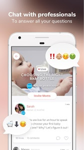 screenshot of WeMoms • Mothers sharing tips version 2.61.00