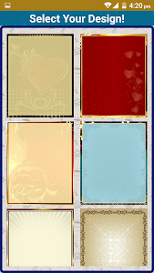 screenshot of Wedding Invitation Cards Maker Marriage Card App version 1.13