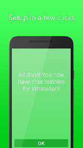 screenshot of WhatsBubbles - Chat Bubbles version 3.1.1