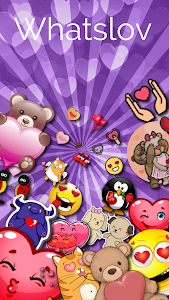 screenshot of ? WhatsLov: Smileys of love, stickers and GIFs version 4.3.5