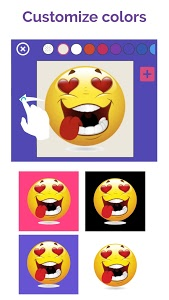 screenshot of ? WhatsLov: Smileys of love, stickers and GIF version 4.2.5