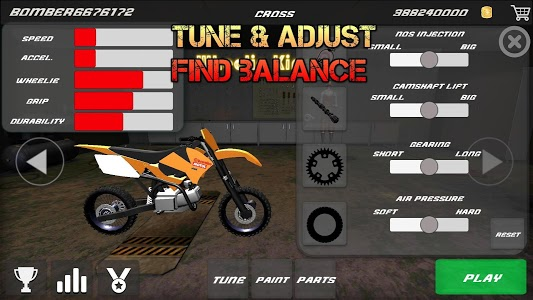 screenshot of Motorbike - Wheelie King 2 version 1.0