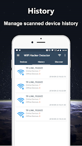 screenshot of WiFi Thief Detector - Detect Who Use My WiFi version 1.1.16