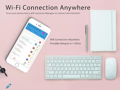 screenshot of Free Wifi Connection Anywhere & Portable Hotspot version 1.0.29