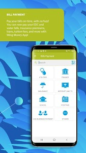 screenshot of Wing Money version Varies with device