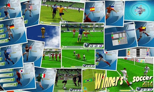 screenshot of Winner Soccer Evolution version 1.6.1