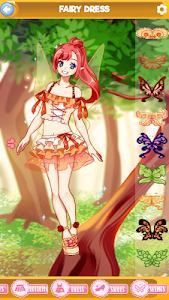 screenshot of Fairy Wonderland - Anime Dress Up version 1.2