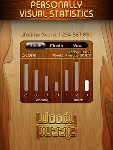 screenshot of Woody \u2122 Block Puzzle version 1.2.4