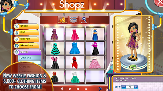 screenshot of Woozworld - Fashion & Fame MMO version 1.6.4