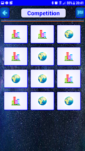 screenshot of WordMemory – Smart Game for Smart Players version 2.0b